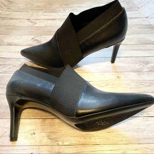 Calvin Klein Roxana Black Pointed Toe Bootie SZ8.5